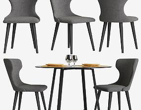 3D Chair Made Bjorg table Haku