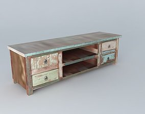 3D TV stand CALANQUE houses the world