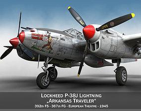 Lockheed P-38 Lightning - Arkansas Traveler 3D