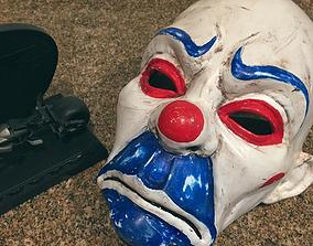 3D printable model Clown Mask Dark Knight Cosplay 2