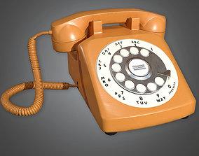 MCN - Retro Phone Midcentury - PBR Game Ready 3D asset