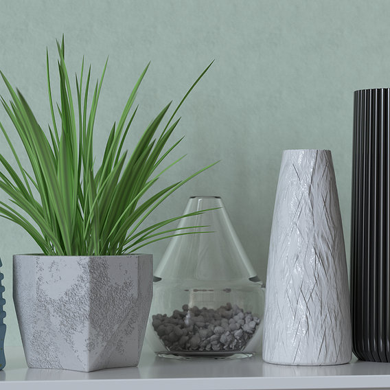 Modern materials Vases