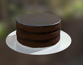 Cake Round 1 3D