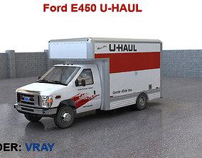 3D model Ford E450 U-HAUL