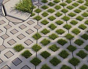 3D Grass Eco parking