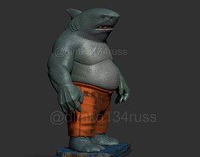 god King Shark 3D printable model