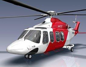 AgustaWestland AW139 3D asset