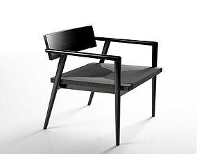 Dormitio Lounge Chair 3D model