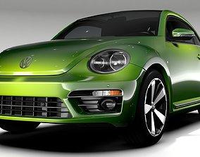 VW Beetle 2017 3D