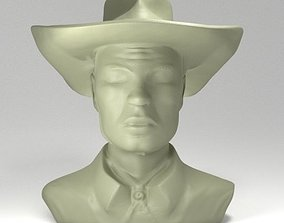 3D printable model TexWiller Bust