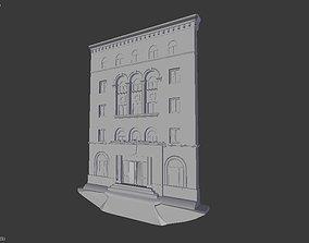 Building architecture 3D print model