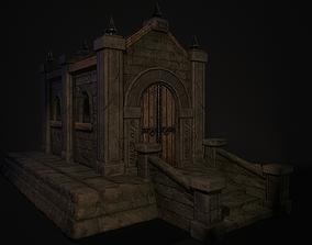 3D asset Old Crypt