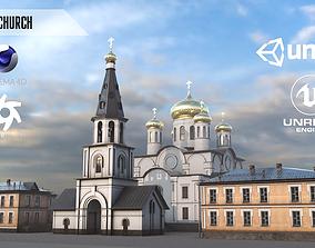 Old Church 3D model VR / AR ready
