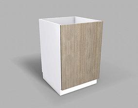 Kitchen Base Cabinet 60 cm 3D model