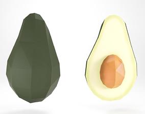 Avocado 3D asset realtime