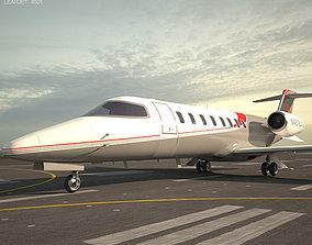 3D Learjet 75