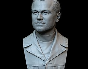 Leonardo DiCaprio from Once Upon a Time in 3D print model