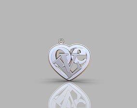 3D printable model gift Heart Love