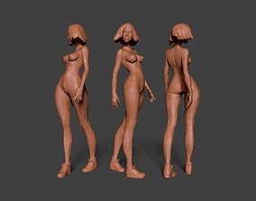 3D print model Clay Girl 8