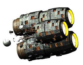 Satellite-Spaceship-Xingxu 06 3D model