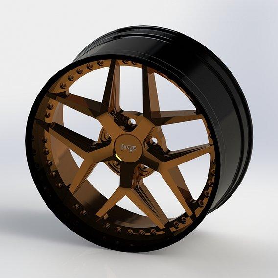 Cast rim NICHE SPORT M227 printable model