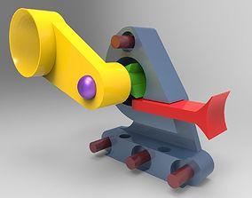 Crank Trigger System 3D printable model
