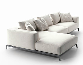 3D model modern Ettore Sofa