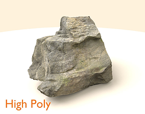 Generic Scanned Stone 3D asset