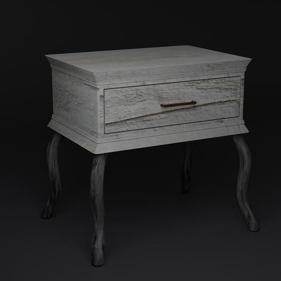 Old Nightstand