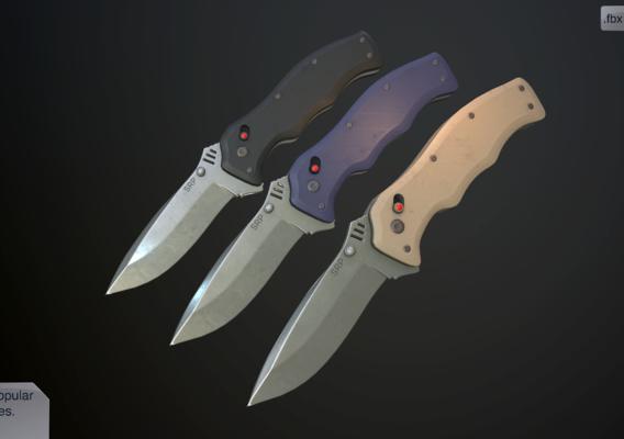 Clasp knives vulcan vol pack