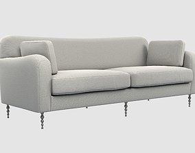 3D model realtime HILLCREST sofa Kelly Wearstler