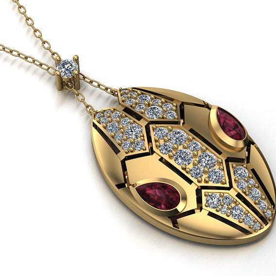 bvlgari pendant
