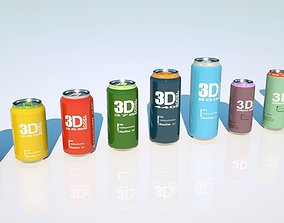 3D Can beverage full pack