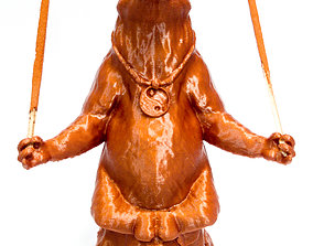 3D printable model The Yoga Bear
