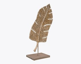 Leaf sculpture 02 3D model