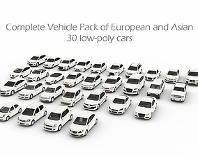 3D asset Complete Vehicle Pack EA