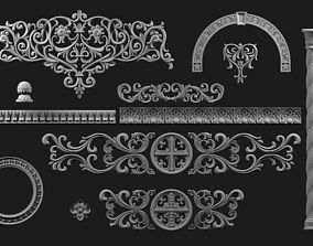 3D Carved architectural elements in Byzantine style part 2