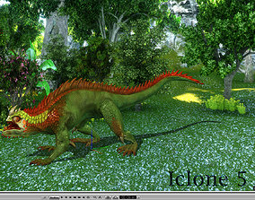 3Dfoin - Fantasy Lizard animated
