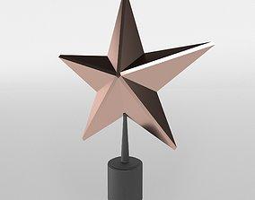 3D model Christmas Star v1 003