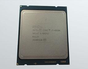 Intel i7 4930K 3D model