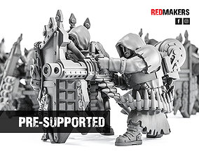 3D print model Janissaries - Heavy Support Squad of the 1