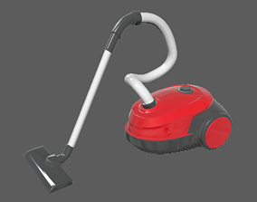 Machine Vacuum Cleaner 3D