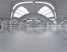 HDRI - Industrial Warehouse Interior 2 3D asset
