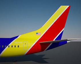 Southwest 737 MAX - 9 3D