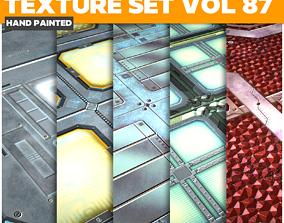 3D asset Scifi Vol 87 - Game PBR Textures