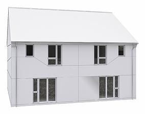3D model Neighborhood Houses P19