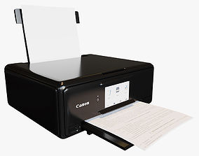 Canon PIXMA TS8150 Series 3D model scanner