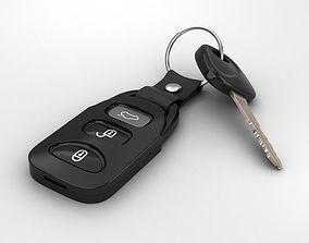 3D model Car Key keys
