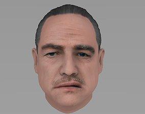 Marlon Brando Vito Corleone Godfather gangster 3D model