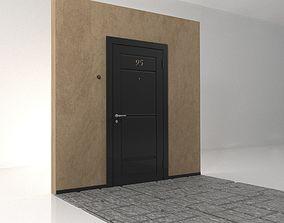 castle The input metal doors 3D